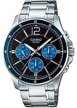 Casio Часы Casio MTP-1374D-2A. Коллекция Analog casio casio mtp 1258pd 2a