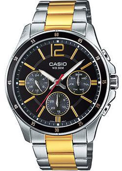 Casio Часы Casio MTP-1374SG-1A. Коллекция Analog casio mtp x100g 1a