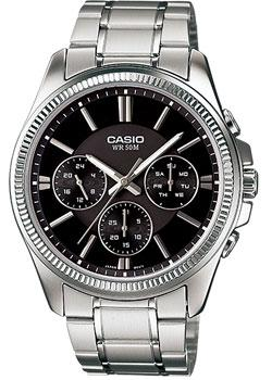 Casio Часы Casio MTP-1375D-1A. Коллекция Analog casio mtp vs02g 1a