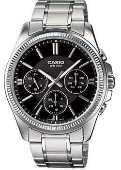Casio Часы Casio MTP-1375D-1A. Коллекция Analog casio часы casio mtp 1375d 7a2 коллекция analog