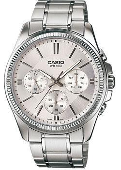 Casio Часы Casio MTP-1375D-7A. Коллекция Analog casio часы casio mtp 1375d 7a2 коллекция analog