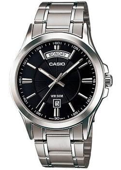 Casio Часы Casio MTP-1381D-1A. Коллекция Analog часы casio collection mtp 1200a 1a silver black