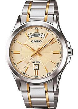 Casio Часы Casio MTP-1381G-9A. Коллекция Analog пакет подарочный winter wings bg6670 w 20x27x9 8 см