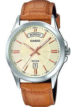 Casio Часы Casio MTP-1381L-9A. Коллекция Analog casio часы casio mtp vs02g 9a коллекция analog