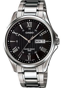 Casio Часы Casio MTP-1384D-1A. Коллекция Analog casio часы casio mtp vs01g 1a коллекция analog