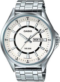 Casio Часы Casio MTP-E108D-7A. Коллекция Analog casio часы casio mtp 1228d 7a коллекция analog
