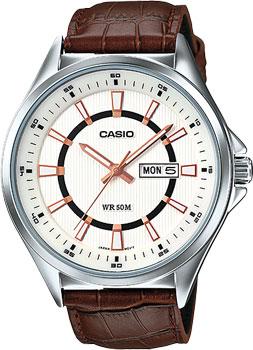 Casio Часы Casio MTP-E108L-7A. Коллекция Analog casio часы casio mtp 1228d 7a коллекция analog