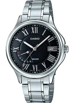 Casio Часы  MTP-E116D-1A. Коллекция Analog