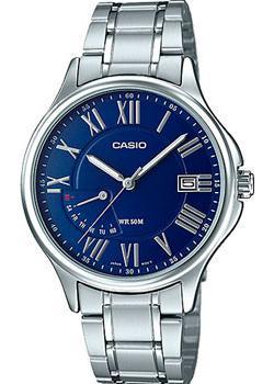 Casio Часы Casio MTP-E116D-2A. Коллекция Analog цены онлайн