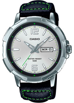 Casio Часы Casio MTP-E119L-7A. Коллекция Analog baile brave man pleasure вибронасадка на пенис
