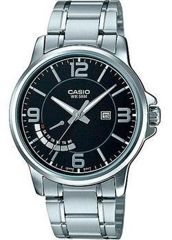 Casio Часы  MTP-E124D-1A. Коллекция Analog
