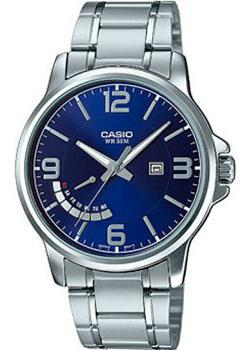 Casio Часы Casio MTP-E124D-2A. Коллекция Analog цены онлайн