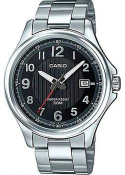 Casio Часы Casio MTP-E126D-1A. Коллекция Analog часы casio collection mtp 1154pq 1a black gold