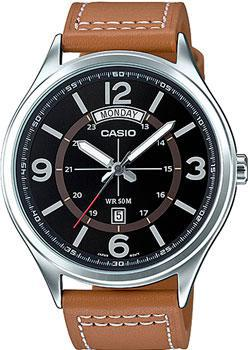 Casio Часы Casio MTP-E129L-5A. Коллекция Analog электронные часы casio collection ca 506c 5a