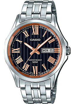 Casio Часы Casio MTP-E131DY-1A. Коллекция Analog casio mtp x100g 1a