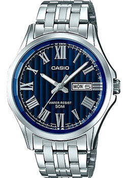 Casio Часы Casio MTP-E131DY-2A. Коллекция Analog casio mtp 1258d 2a