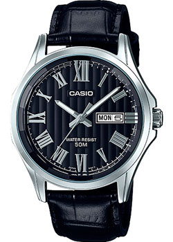 Casio Часы Casio MTP-E131LY-1A. Коллекция Analog часы casio collection mtp 1154pq 1a black gold