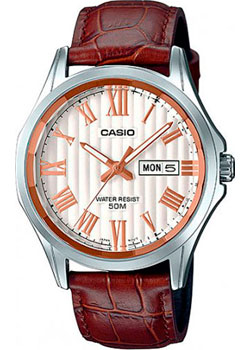 где купить Casio Часы Casio MTP-E131LY-7A. Коллекция Analog недорого с доставкой