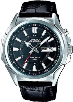 Casio Часы Casio MTP-E200L-1A. Коллекция Analog casio часы casio f 105w 1a коллекция digital