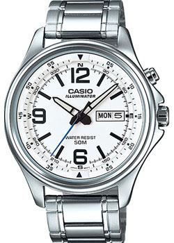 Casio Часы Casio MTP-E201D-7B. Коллекция Analog casio часы casio mtp 1379l 7b коллекция analog