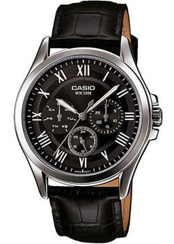 Casio Часы Casio MTP-E301L-1B. Коллекция Analog casio casio mtp e301l 7b standard analog