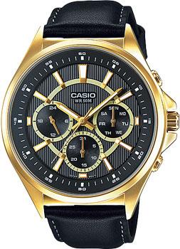 Casio Часы Casio MTP-E303GL-1A. Коллекция Analog exetera argenti фигурка firesse 9х10х19 см