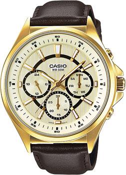 Casio Часы Casio MTP-E303GL-9A. Коллекция Analog casio mtp 1374d 9a