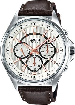 Casio Часы Casio MTP-E303L-7A. Коллекция Analog casio часы casio mtp 1228d 7a коллекция analog