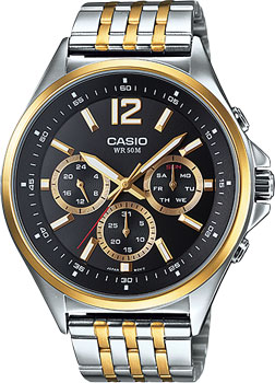 Casio Часы Casio MTP-E303SG-1A. Коллекция Analog часы casio mtp 1377l 5a