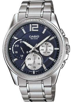 Casio Часы Casio MTP-E305D-2A. Коллекция Analog casio casio mtp 1258pd 2a