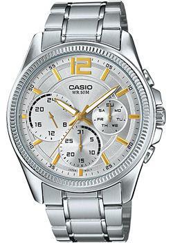 Casio Часы Casio MTP-E305D-7A. Коллекция Analog casio часы casio mtp 1228d 7a коллекция analog