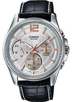 Casio Часы Casio MTP-E305L-7A. Коллекция Analog casio mtp e305l 5a