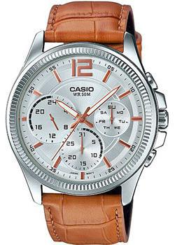Casio Часы Casio MTP-E305L-7A2. Коллекция Analog casio часы casio mtp 1375d 7a2 коллекция analog