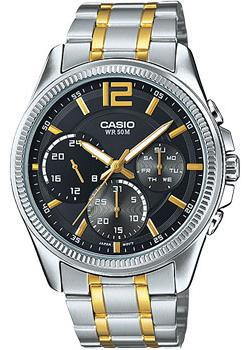 Casio Часы Casio MTP-E305SG-1A. Коллекция Analog часы casio mtp 1377l 5a