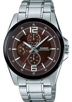 Casio Часы Casio MTP-E306D-5A. Коллекция Analog все цены