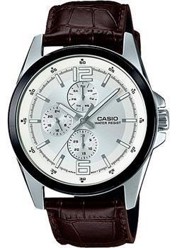 Casio Часы Casio MTP-E306L-7A. Коллекция Analog рубашка 1001dress 8 марта женщинам