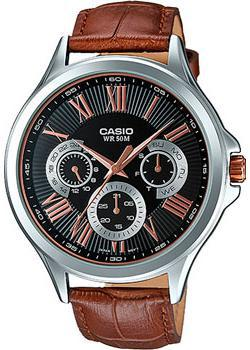 Casio Часы Casio MTP-E308L-1A. Коллекция Analog casio часы casio mtp vs02g 1a коллекция analog