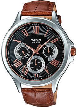 Casio Часы Casio MTP-E308L-1A. Коллекция Analog цена и фото