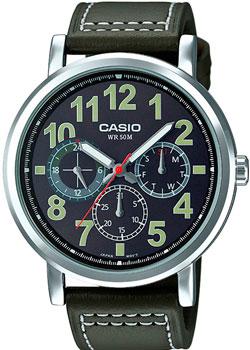 Casio Часы Casio MTP-E309L-3A. Коллекция Analog фартук printio летающий завтрак