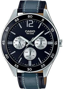 Casio Часы Casio MTP-E310L-1A1. Коллекция Analog casio casio mtp e310l 2a
