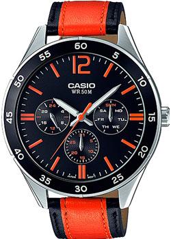 Casio Часы Casio MTP-E310L-1A2. Коллекция Analog casio casio mtp e310l 2a