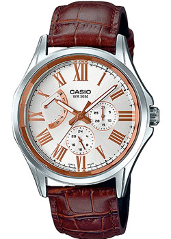 Casio Часы Casio MTP-E311LY-7A. Коллекция Analog casio часы casio mtp 1228d 7a коллекция analog