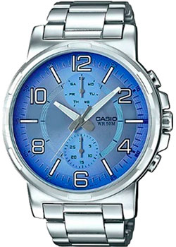 Casio Часы Casio MTP-E313D-2B2. Коллекция Analog часы casio mtp 1377l 5a