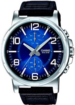 Casio Часы Casio MTP-E313L-2B1. Коллекция Analog часы casio mtp 1377l 5a