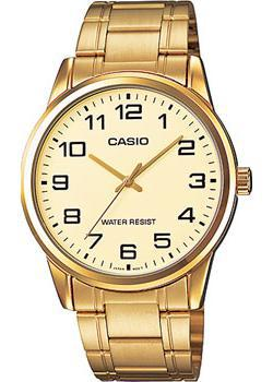 Casio Часы Casio MTP-V001G-9B. Коллекция Analog цена
