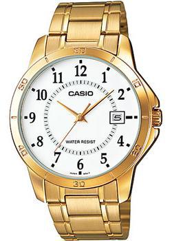 Casio Часы Casio MTP-V004G-7B. Коллекция Analog casio mtp 1303d 7b casio