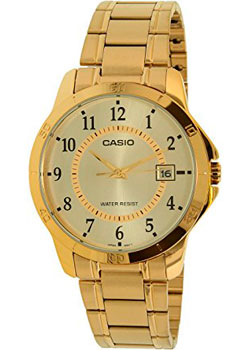 Casio Часы Casio MTP-V004G-9B. Коллекция Analog casio a 168wg 9b