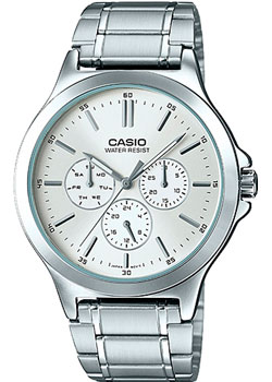 Casio Часы Casio MTP-V300D-7A. Коллекция Analog casio mtp e115gbl 2a