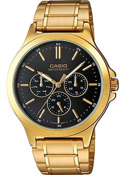 Casio Часы Casio MTP-V300G-1A. Коллекция Analog часы наручные casio часы baby g ba 120tr 7b