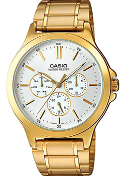 Casio Часы Casio MTP-V300G-7A. Коллекция Analog часы наручные casio часы baby g ba 120tr 7b